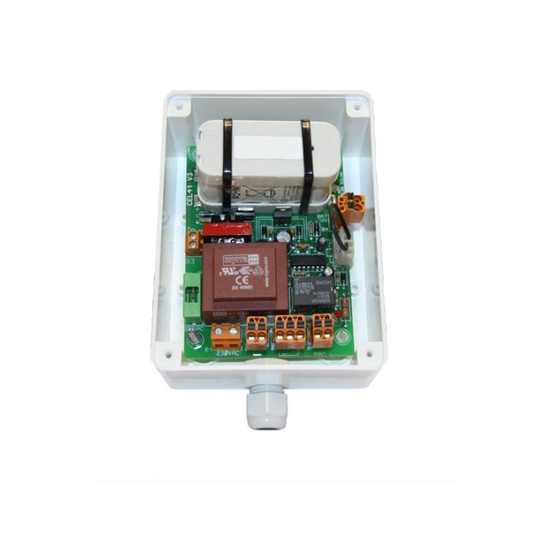 12Vdc 0,3A POWER SUPPLY WITH BATTERY