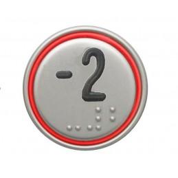 """BOUTON MACRO 24V CONNECTEUR ROUGE """"-2"""""""