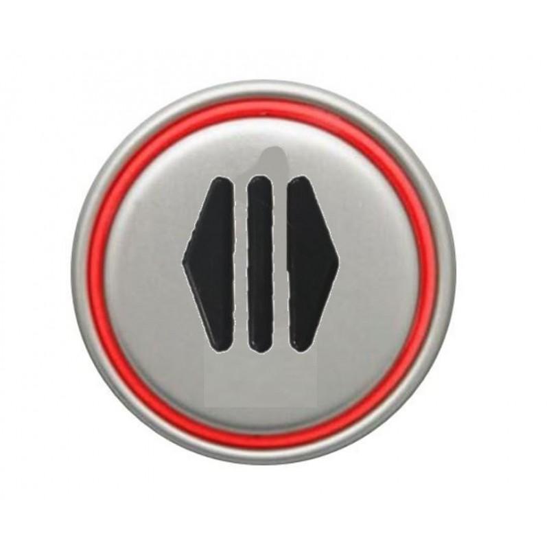 """OPEN DOOR"" RED CONNECTOR 24V MACRO PUSHBUTTON"
