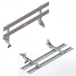 ROOF FOLDABLE HANDRAIL EN81-20 H700 L=1400
