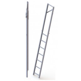 FOLDABLE PIT LADDER TYPE 3a L=1845