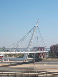 Pasarela Acceso Ave Expo Zaragoza 2008